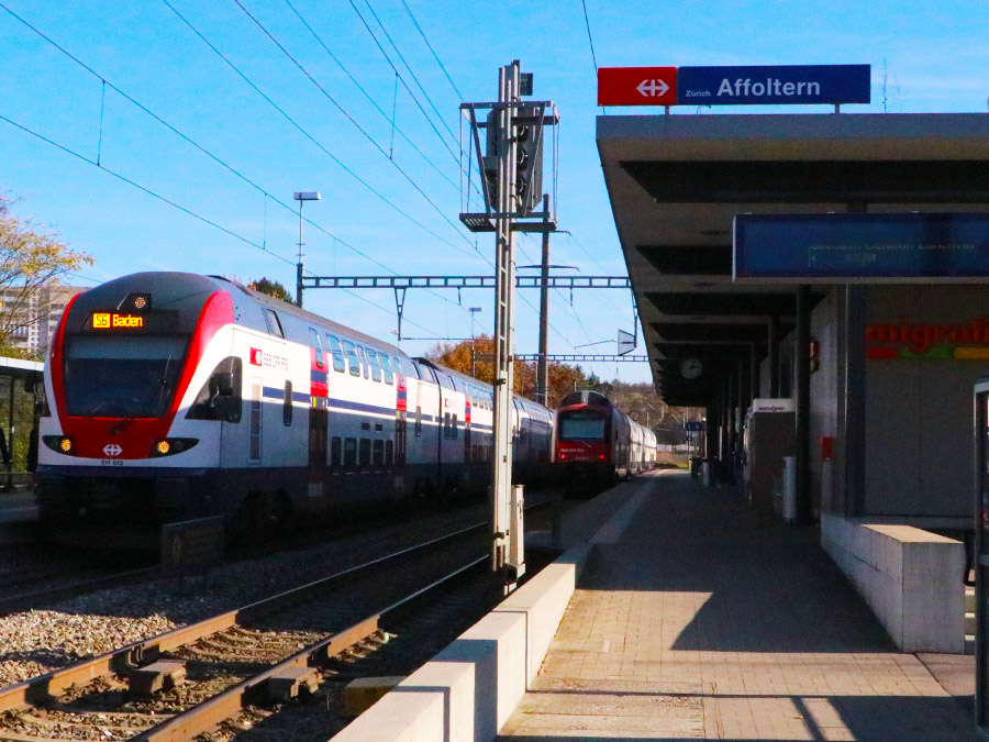 Bahnhof Zürich Affoltern