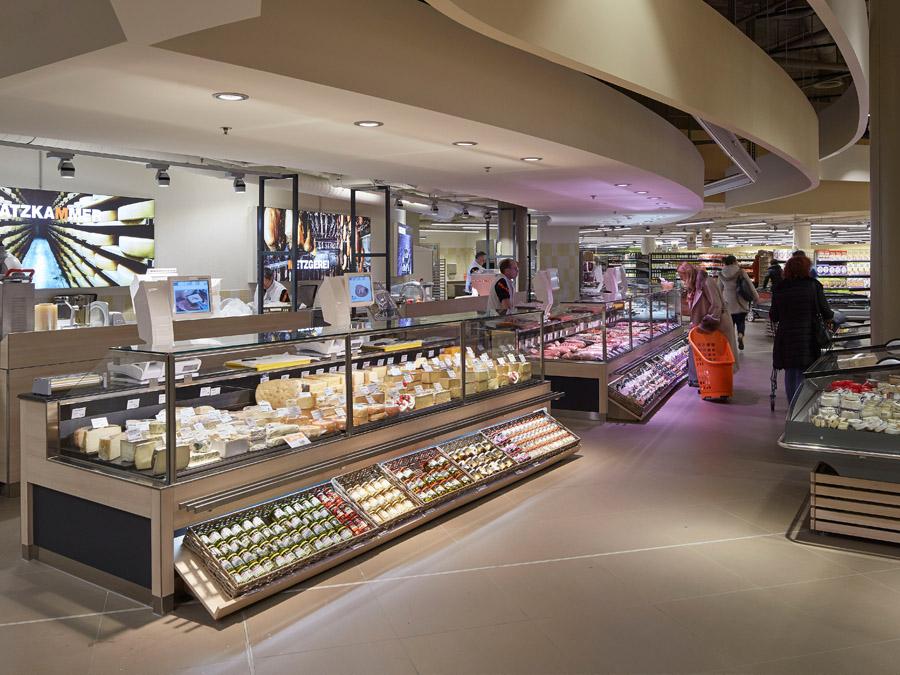 Einkaufen in Zürich-Affoltern